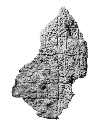 Akte, Stela 5, Fragment a, photo
