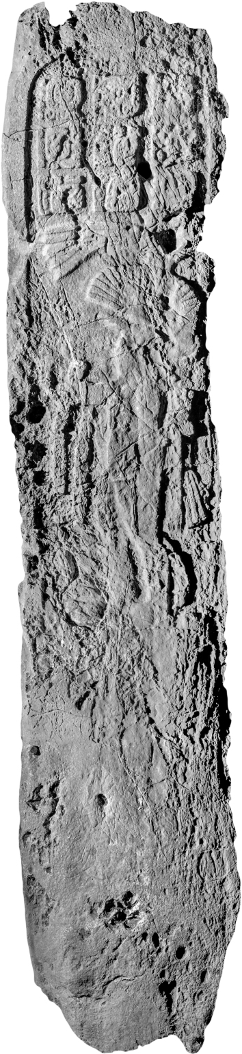 El Chal, Stela 5, photo