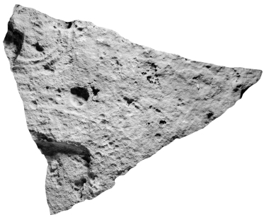 El Keej, Stela 1, Fragment d, photo