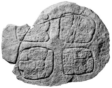 Ixkun, Altar 2, photo