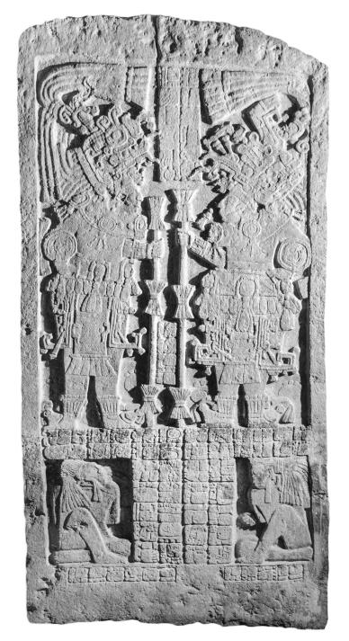 Ixkun, Stela 1, photo