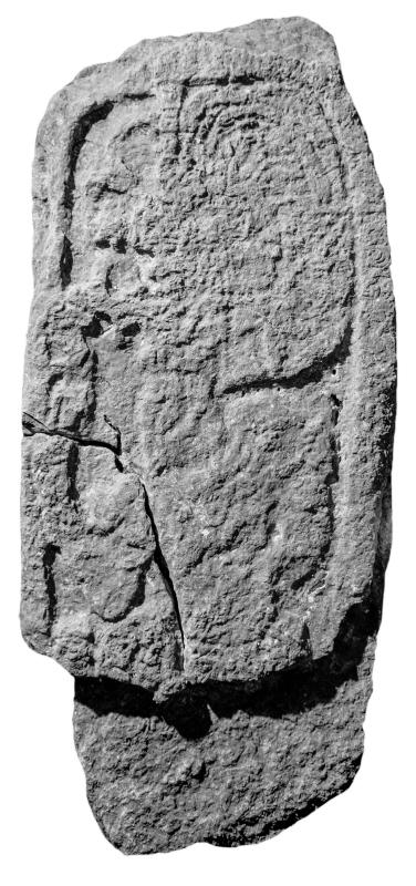 Ixkun, Stela 3, photo