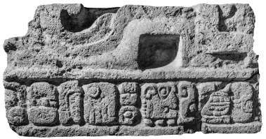 Ixtutz, Panel 2 Blocks, IV, photo
