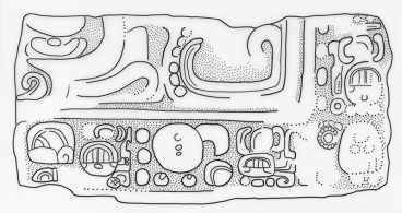 Ixtutz, Panel 2 Blocks, V, drawing