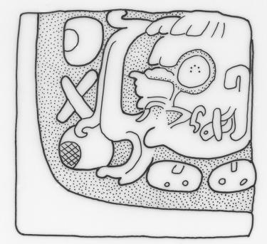 Machaquila, Escultura Menor, drawing